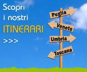 Scopri i nostri Itinerari! Trovali in www.agriturismi.it
