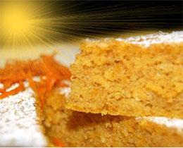 torta carote senza glutine