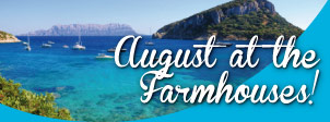 August at the Farmhouses
