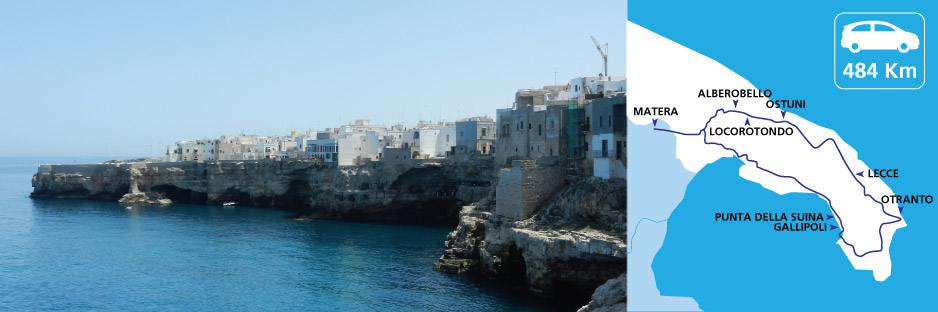 Itinerary discovering Apulia