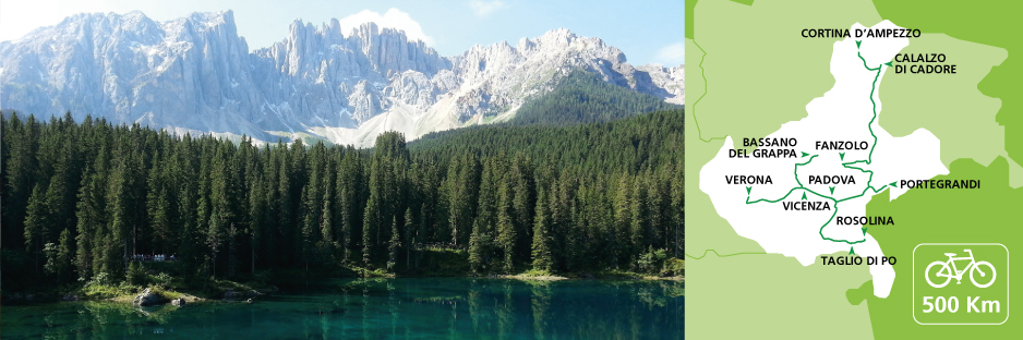 Itinerary discovering the Veneto