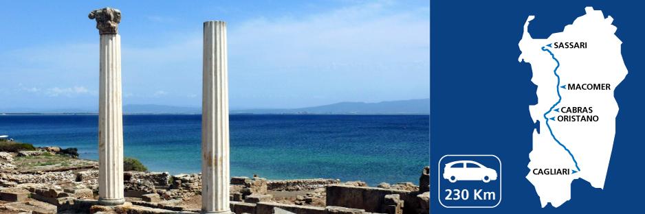 Itinerary discovering Sardinia