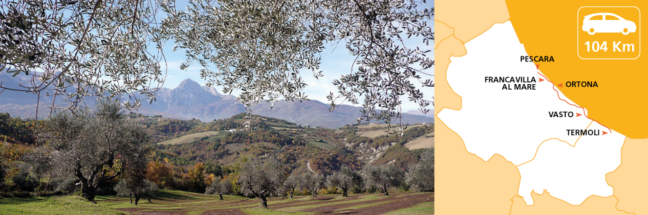 Itinerary discovering Abruzzo and Molise