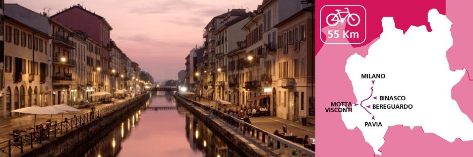 Itinerary discovering Lombardy - Navigli