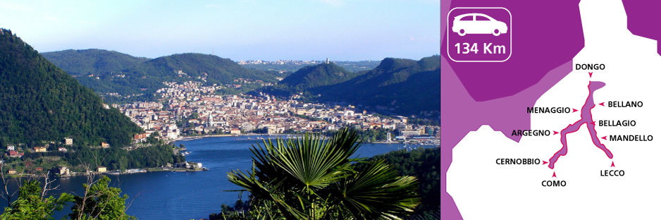 Itinerary discovering Como Lake