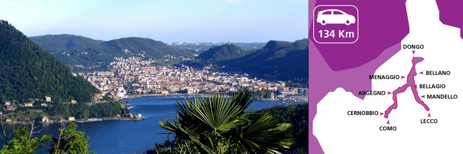 Itinerario alla scoperta del Lago di Como