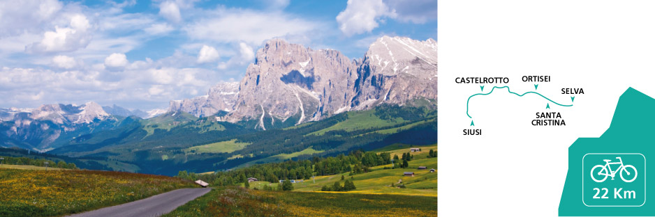 Hiking in Val Gardena