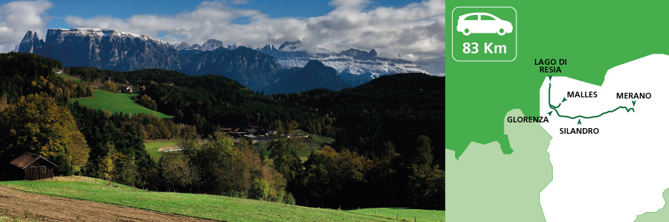Itinerary discovering Vinschgau Valley