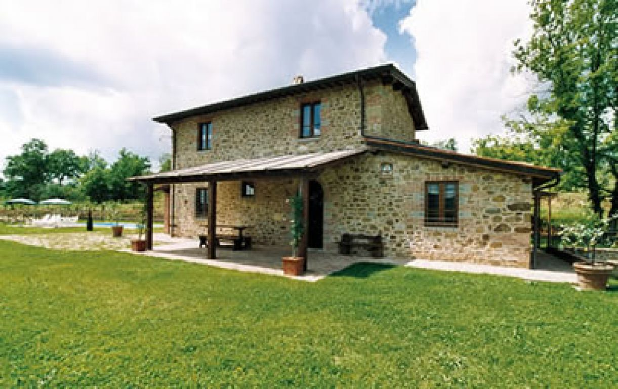 Esterno Casa Di Campagna casa vacanze in campagna miravalle - bucine (toscana)